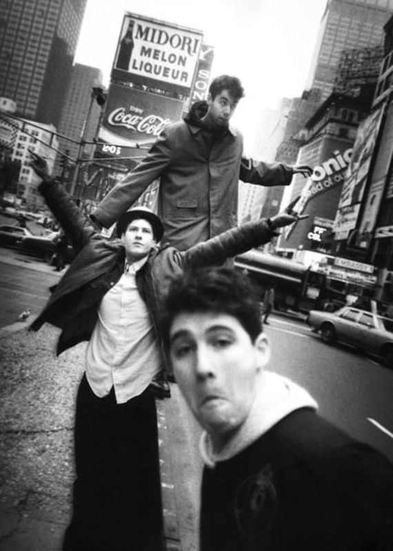 1985 Beastie Boys in Times Square