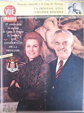 GRACE KELLY 15e ANNIVERSAIRE DE MARIAGE MONACO POINT DE VUE IMAGES DU MONDE 1971