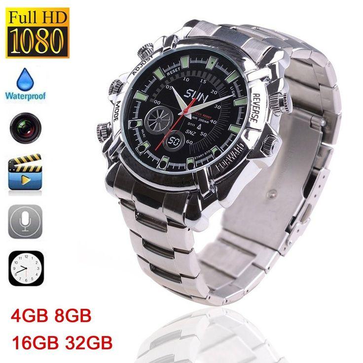 Check out hot new item at Wrist Gear Enterprises: 1080P Night Visio...  Click here to visit: http://wristgearenterprises.com/products/1080p-night-vision-spy-watch-dvr-32gb-16gb-8gb-4gb-waterproof-spy-watch-camera-with-ir-night-vision-hidden-cam-w2000-steel-belt?utm_campaign=social_autopilot&utm_source=pin&utm_medium=pin