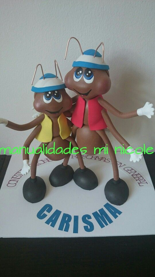 Fofuchas hormigas trabajadoras