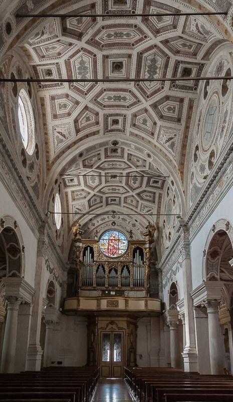 Abbazia di San Benedetto in Polirone, San Benedetto Po   San Benedetto Po (MN), Abbazia di San Benedetto in Polirone (Giulio Romano, 1539)