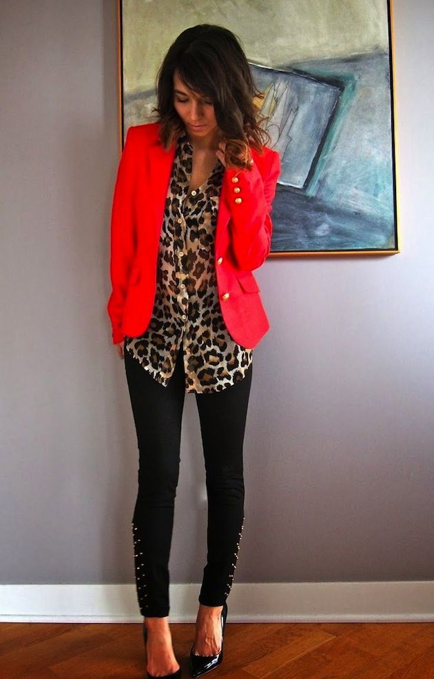 leopard and red combo <3