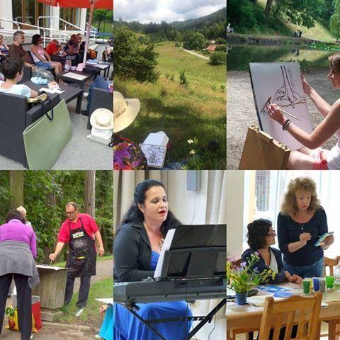 Maliarske sympózium Čertov - Lazy pod Makytou 4.ročník 11. - 16.7. Päť dní v krásnej prírode s maľovaním, spievaním, arte a muzikoterapiou, umením a harmonizačným programom. Pre každého program podľa vlastného výberu. Vedie tím profesionálnych lektorov. Jedinečný letný zážitok, relaxácia, zábava aj vzdelávanie, nájdete iba v ZIV. The program is available also in English. INFO: www.ziv.sk, +421 905 255 585,+421 903 275 335