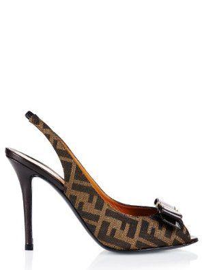 Fendi shoe (F-10-Sc-29293) - 11(US) / 41(IT) / 41(EU) - brown