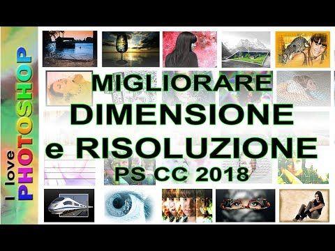 31) Photoshop tutorial italiano - Migliorare risoluzione e