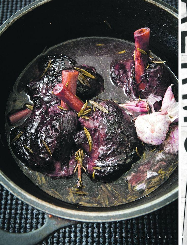Karoo-lamskenkels met ment-en-ertjie-risotto en mentroom | Netwerk24.com