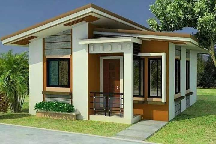 Rumah Pedesaan Modern