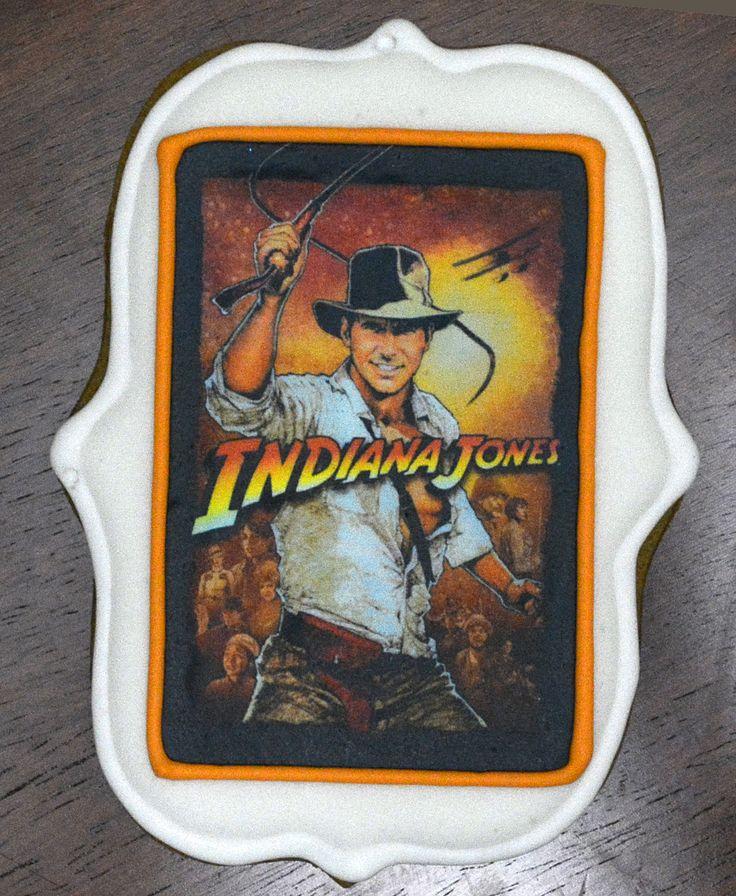 Edible Ink gingerbread - Indiana Jones