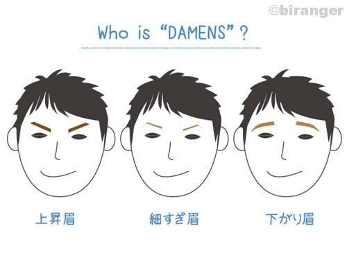 眉毛にダメンズのサイン合コンで気をつけたい男性眉の特徴3つ