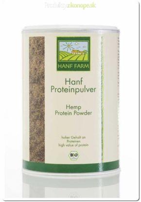 Konopný proteín pre športovcov. Vhodný pre vegánov. Neobsahuje živočíšne prvky