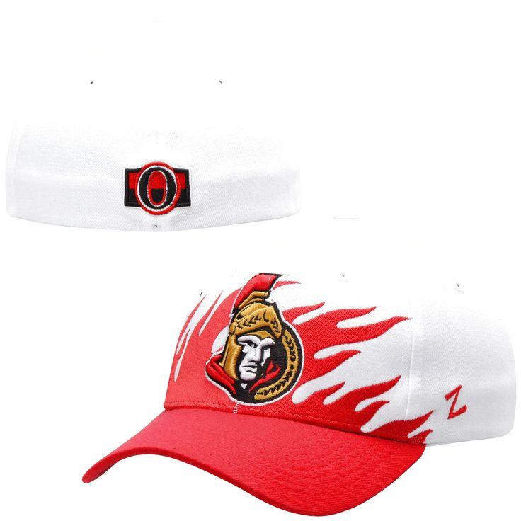 Ottawa Senators Zephyr Flame Flex Hat – White - $19.99