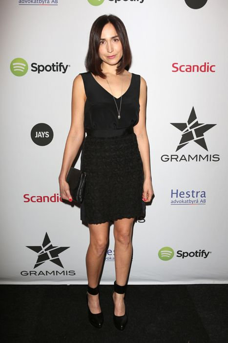 Maria Andersson featuring #ReschiaShoes tangled pump (www.reschia.com) at Grammis STHLM #GRAMMIS #wearingreschiashoes