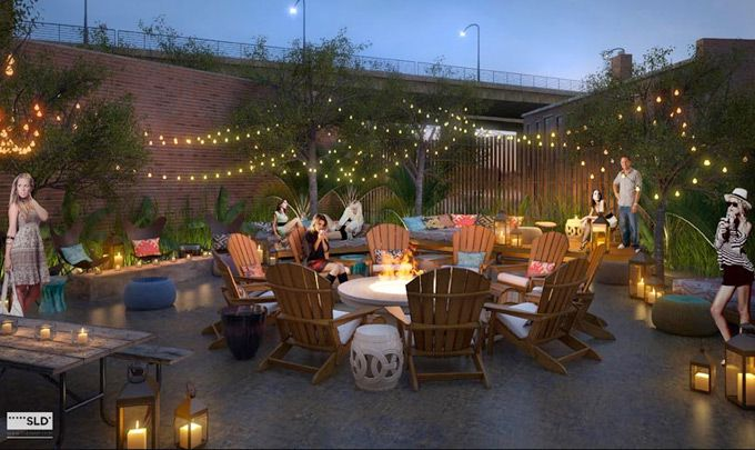 Chenango Restaurant In Northern Liberties Is Officially Open, Featuring A Large Outdoor Garden Patio Complete With Firepit