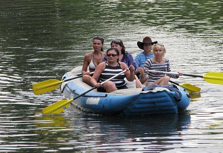 Czech Adventures event - Relaxing trip on a raft