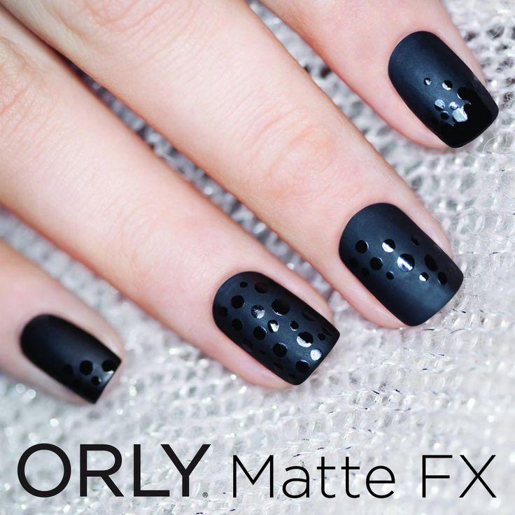 Splendida manicure realizzata con ORLY Matte FX.   #smaltiorly #orly  ORLY. TUTTE le donne che SEI per TUTTO il tempo che VUOI.