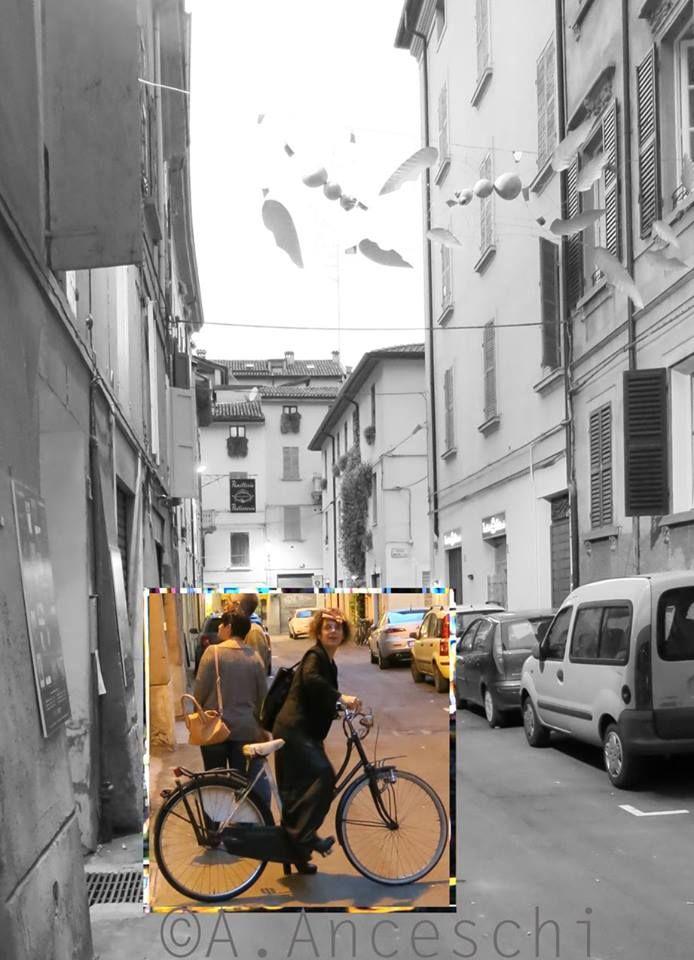 Foto Alfredo Anceschi  Prima o poi ritornerai. In Ateliers Viaduegobbitre — con Laura Cadelo