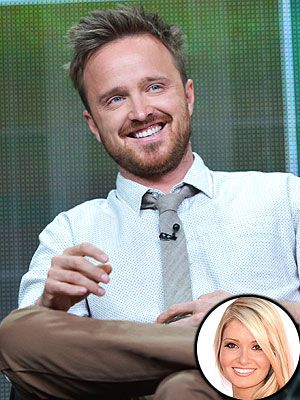 Now that Breaking Bad has wrapped filming, Aaron Paul is able to fully savor marital bliss with wife Lauren Parsekian, whom he wed in May.