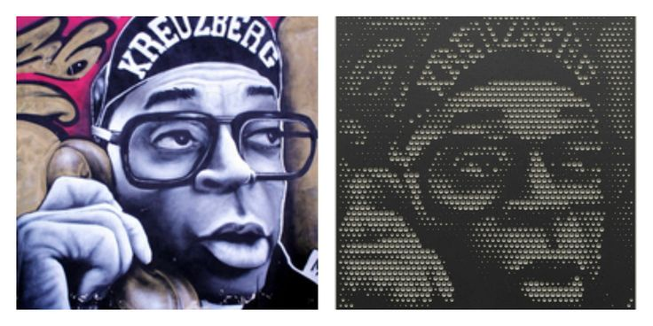 Mill your favorite pictures into wood with the online web-app from #Halvtone #spikelee #kreuzberg #berlin #graffiti #blackwhite #wood #interior #design #living #milling #CNC #machine #webapp