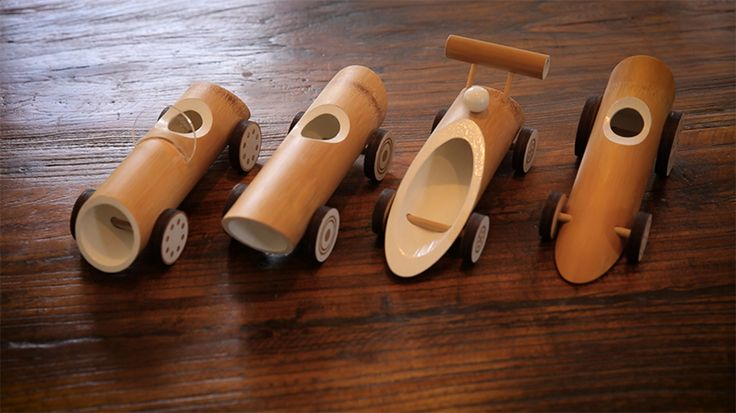 DESIGNBOOM: made of bamboo launches hand crafted toy cars using eco-friendly materials http://www.davincilifestyle.com/designboom-made-of-bamboo-launches-hand-crafted-toy-cars-using-eco-friendly-materials/     cars are an integral part of childhood play for most kids as they inspire motion and imagination. made of bamboo havewanted to design and create toys that are eco-friendly, durable and beautiful. the design team's bamboo products are influenced by the beauty of na