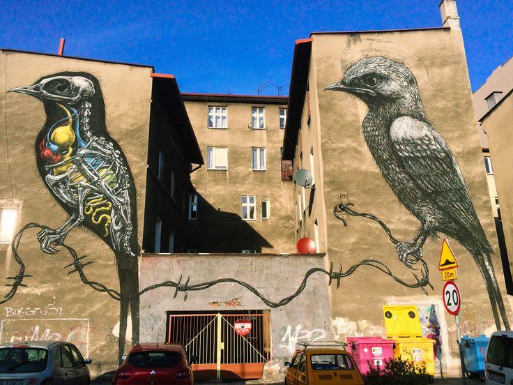 Graffiti in Katowice, Poland -