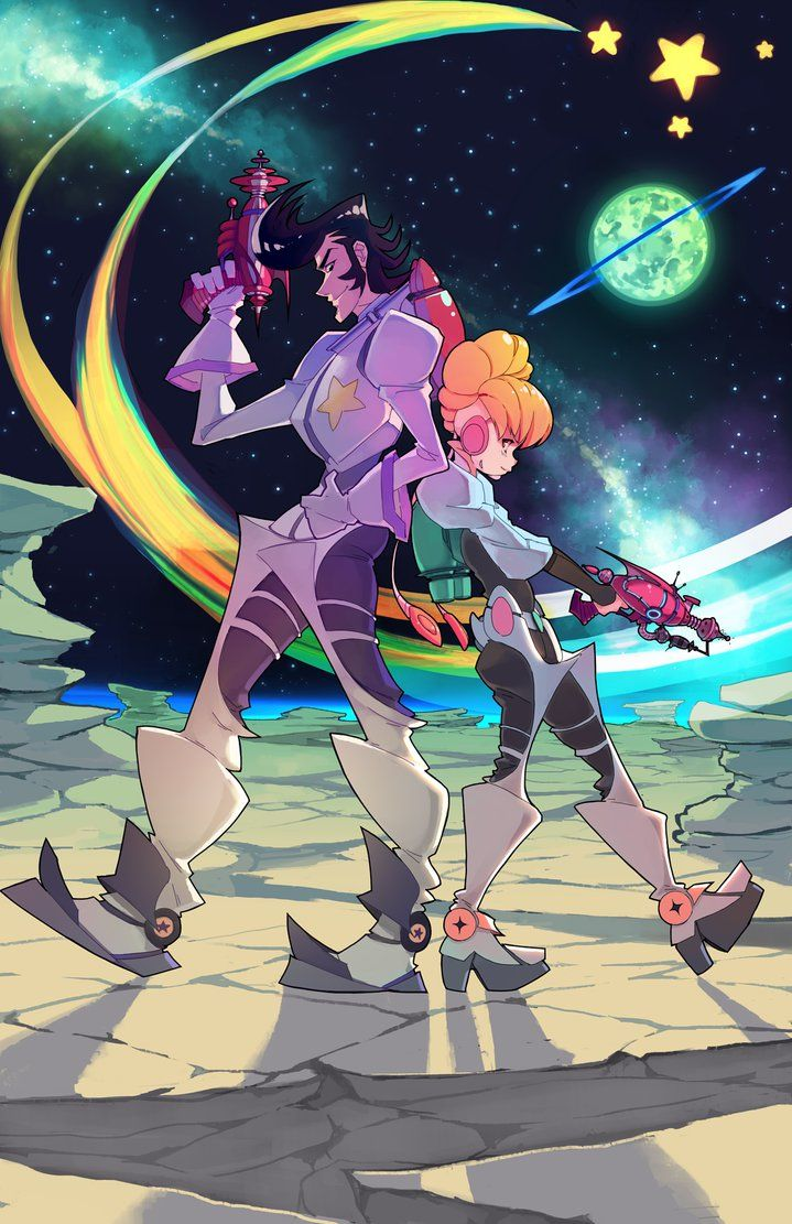 Space Dandy 2: Adventures of Dandy and Adelie by rtil on DeviantArt