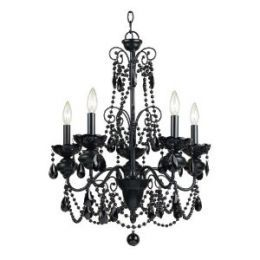 bedroom decor black chandelier decorating a kids room using black