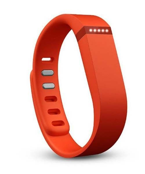 Orange Fitbit Flex Wireless Activity + Sleep Tracker Wristband