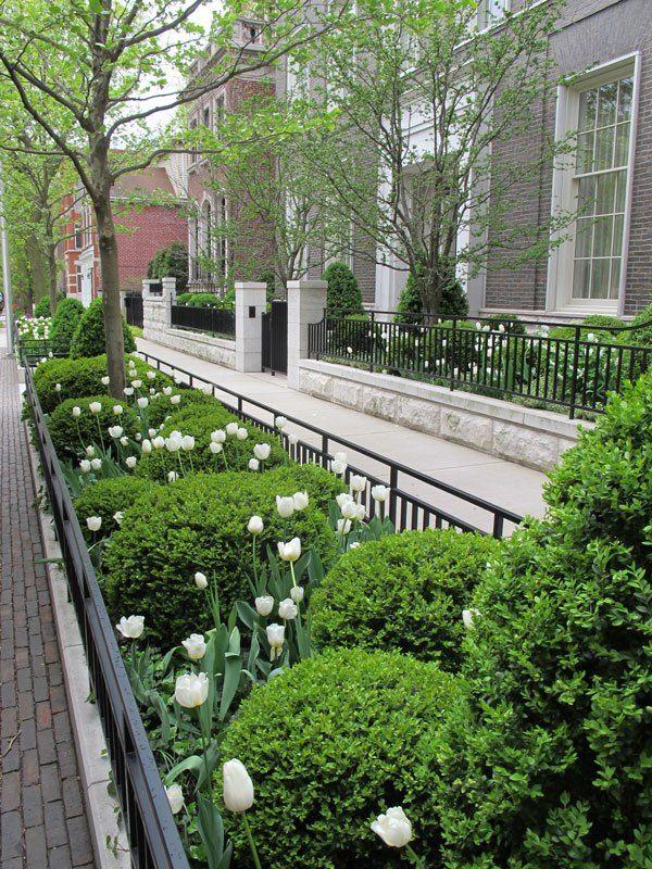 Urban Gardens On The Street Urban Garden Front Landscaping Formal Gardens