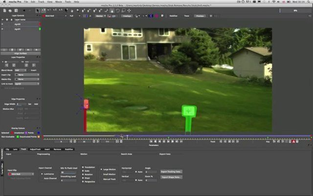 Remove Module in Mocha. In this intro tutorial, Martin Brennand shows how to use get rid of unwanted foreground elements without paint or clone using mocha Pro's planar tracking and unique Remove Module.