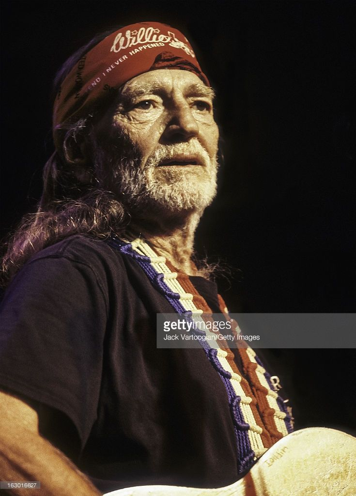 American country musician Willie Nelson performs at Irving Plaza, New York, New York, April 19, 2000.