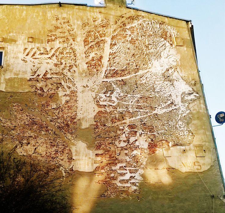 Mural TreeFace ŁÓDŹ