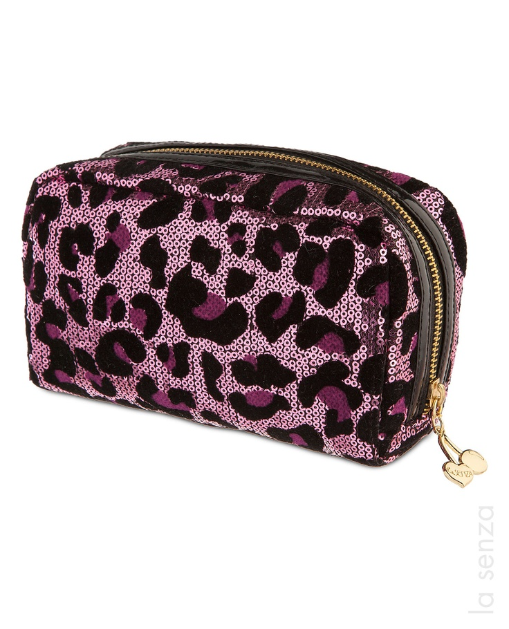 Glimmer Cosmetic Bag #LaSenza #HolidayGifts