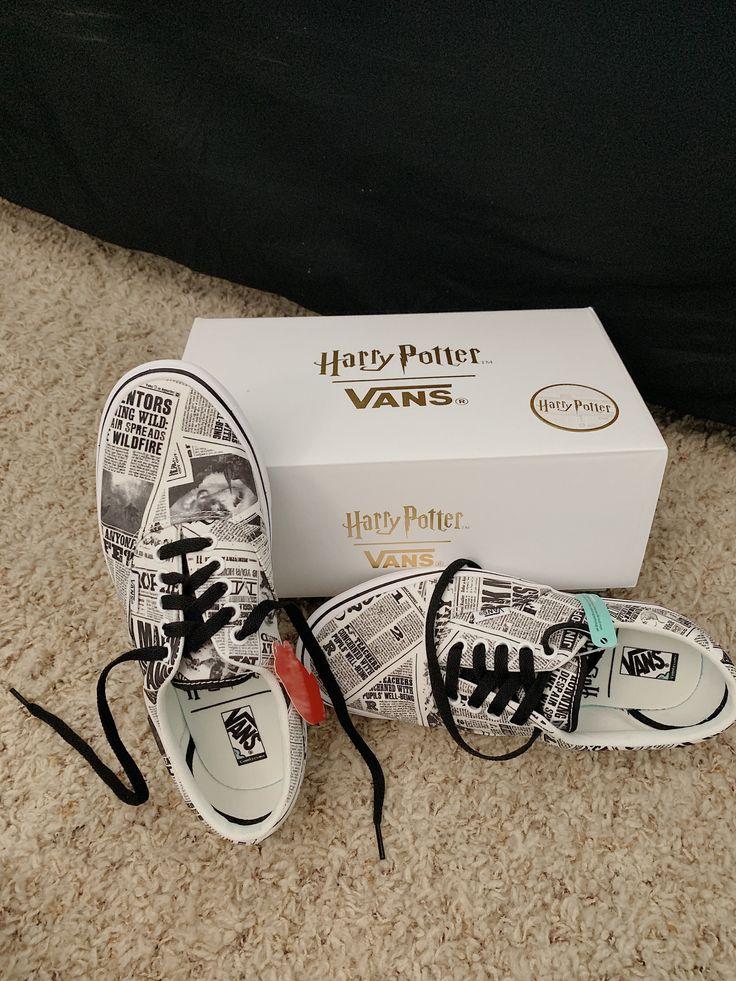 Harry Potter Vans   Harry potter accessories, Harry potter shoes ...
