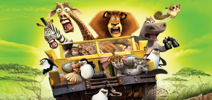 Busch Gardens o novo show Madagascar Live