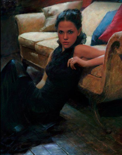 Casey Baugh 1984 | Georgian Figurative painter