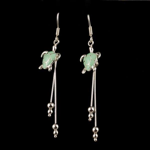 minty turtles :) #new #earrings