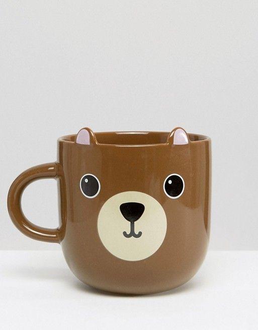 Sass & Belle | Taza con diseño de oso de Sass & Belle