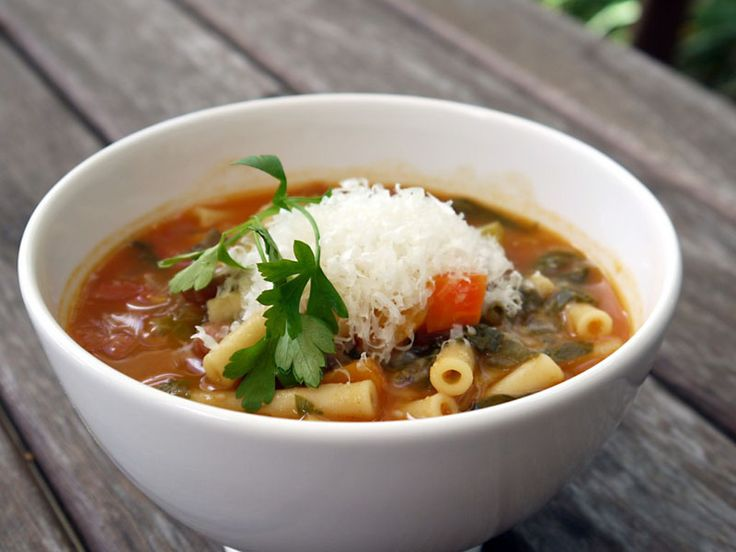 Chunky Minestrone Soup - A Perfect Pantry