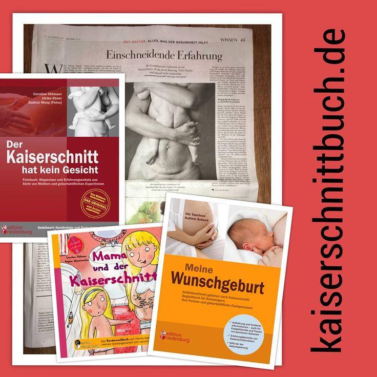 """""""Einschneidende Erfahrung"""" titelt die Wochenzeitung """"ZEIT"""" zum Thema Kaiserschnitt und bringt ein Foto aus dem Gründungsbuch der edition riedenburg """"Der Kaiserschnitt hat kein Gesicht"""". Hier geht es zum Artikel: http://www.zeit.de/2017/47/kaiserschnitt-geburt-mutter-kind Hier geht es zur Lektüre für Frauen mit Kaiserschnitt und/oder dem Wunsch nach einer natürlichen Geburt nach Kaiserschnitt: www.kaiserschnittbuch.de"""