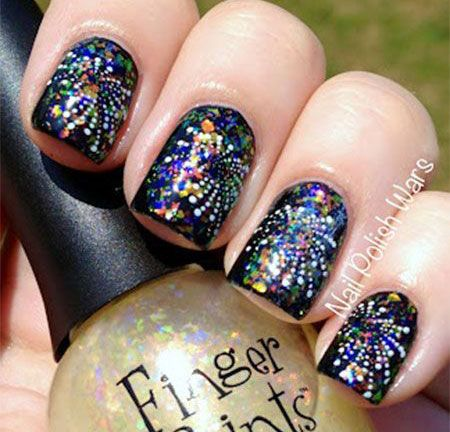 44 best Happy New Year Eve Nail Art images on Pinterest ...