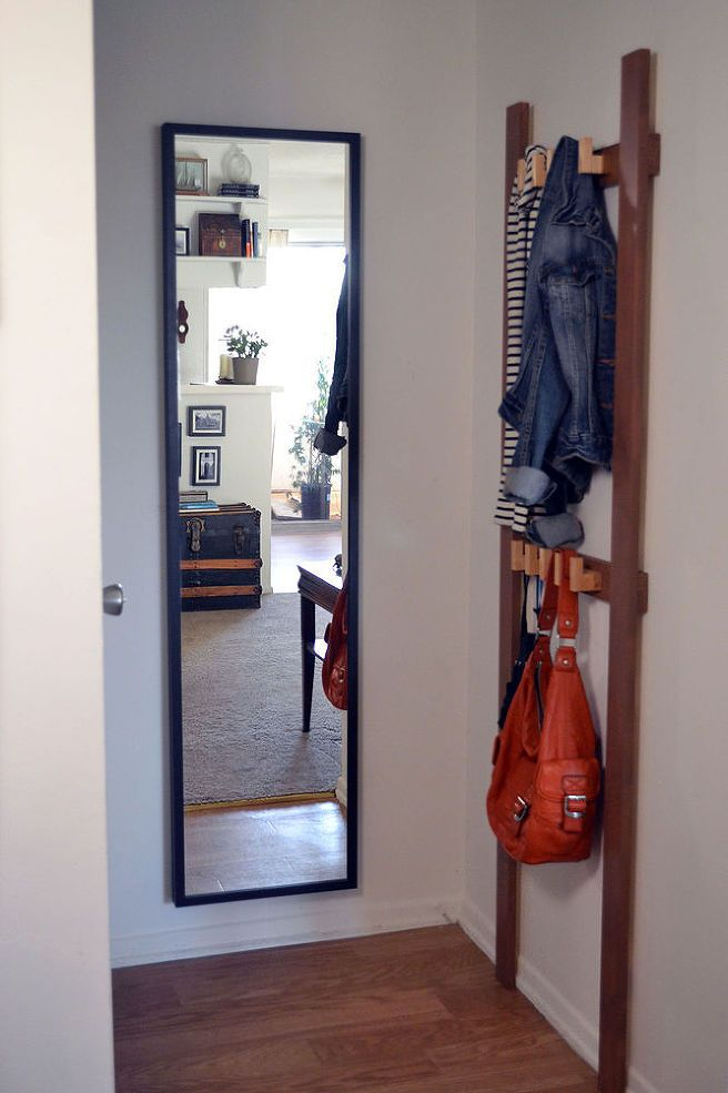 Small Foyer Coat Rack : Small entryway makeover coat racks entryways and