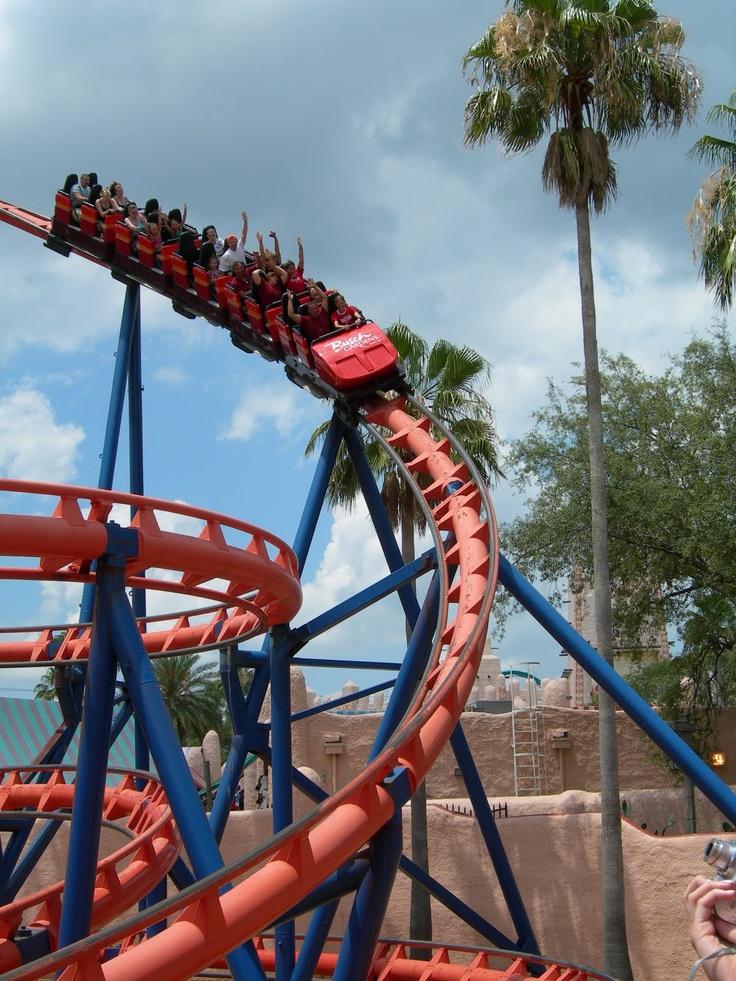 Busch Gardens Kraken Garden Ftempo