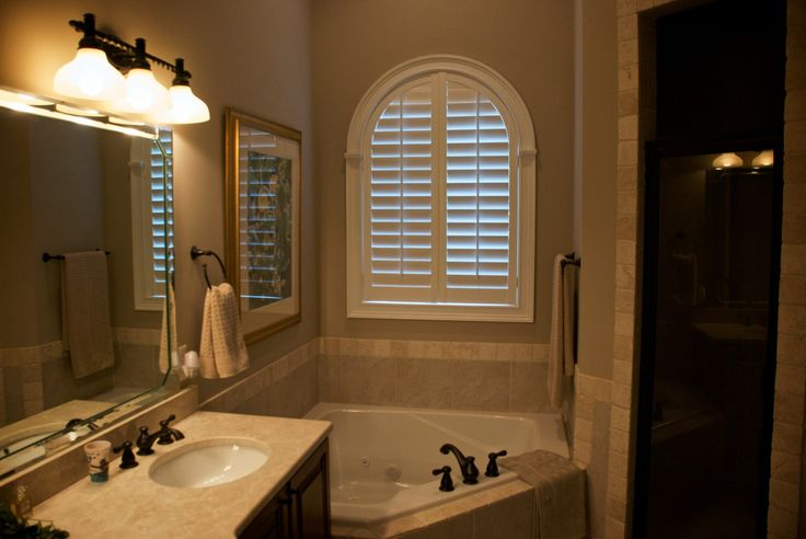 164 Best Images About Bathroom Window Covering Ideas On Pinterest Plantation Shutter Shutters