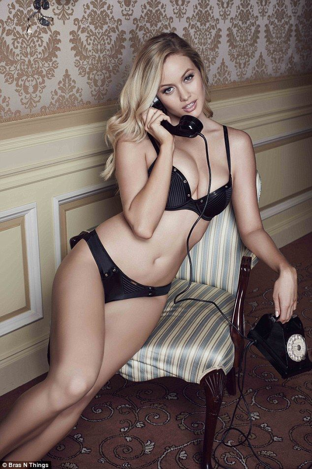 Simone Holtznagel sizzles in a sultry campaign for Playboy ...