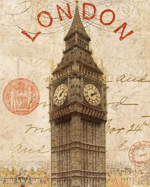 Letter from London 8x10  - 8x10 by   - Explore the World with Travel Nerd Nici, one Country at a Time. http://TravelNerdNici.com