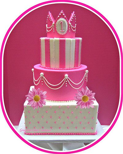 elegant couture kids birthday party | princess birthday cake 22