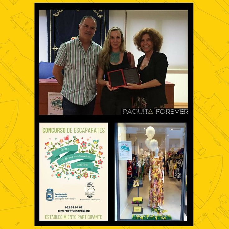 Nos han dado un premio por un concurso que organizó el ayuntamiento de Fuengirola