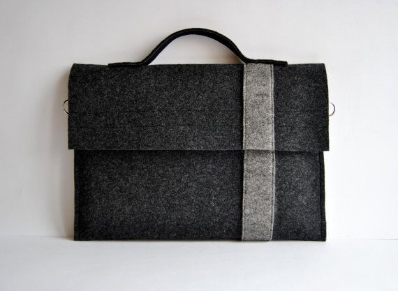 Macbook 11 sac de feutre pour ordinateur portable par kmBaggies, $23.00