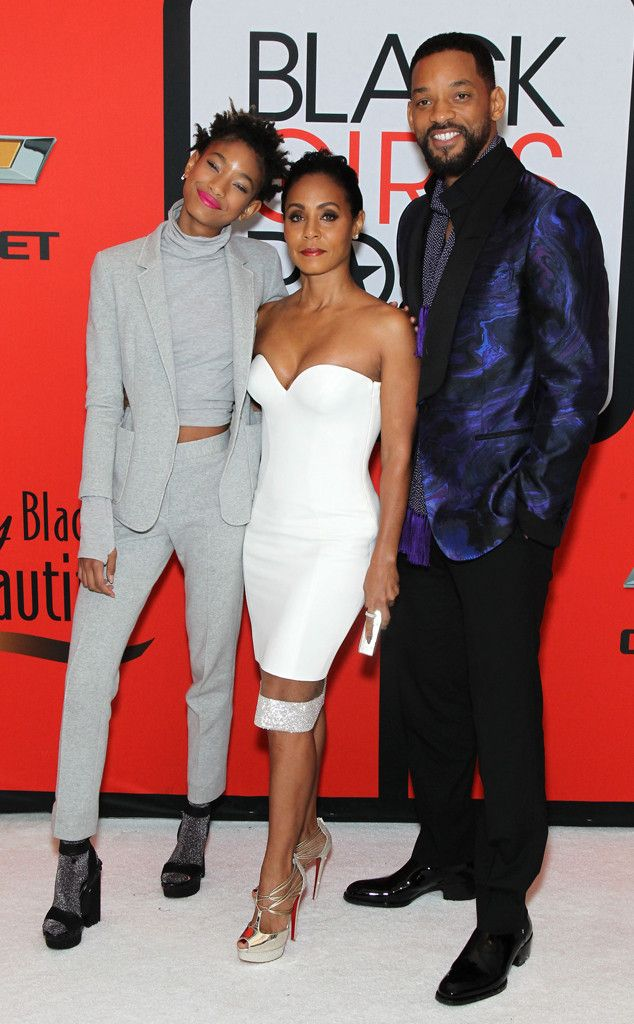 Willow Smith, Jada Pinkett Smith & Will Smith from 2015 Black Girls Rock!: Star Sightings | E! Online