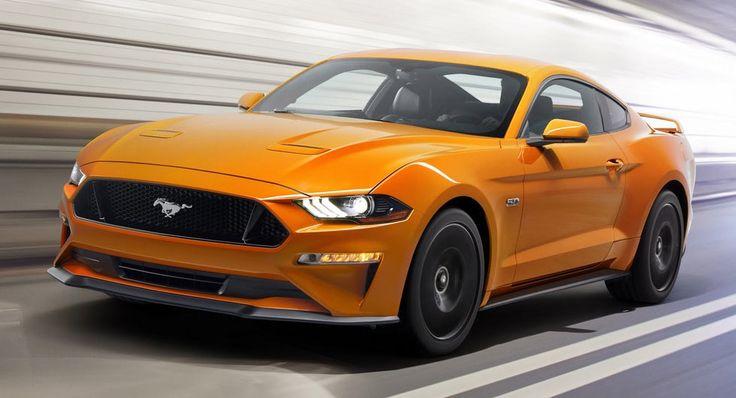 2018 Ford Mustang Pricing Starts At $25585